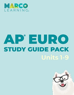 Marco Learning's AP European History Study Guide